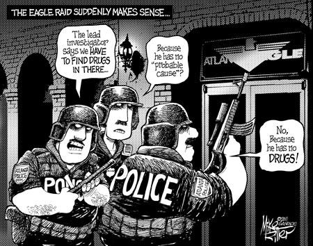 Cartoons courtesy of GA Voice.