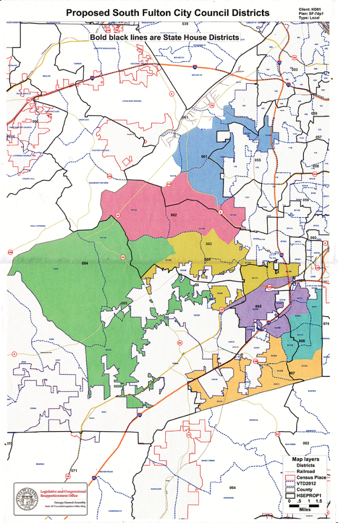 south fulton map