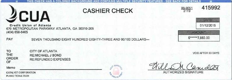 bond check