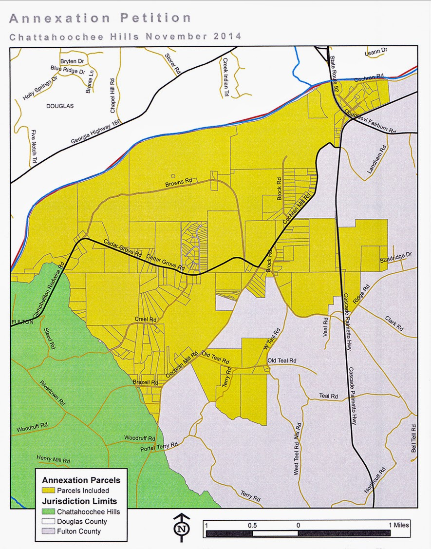 Annexations Whittling Away At Unincorporated South Fulton