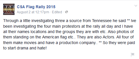 csa flag rally