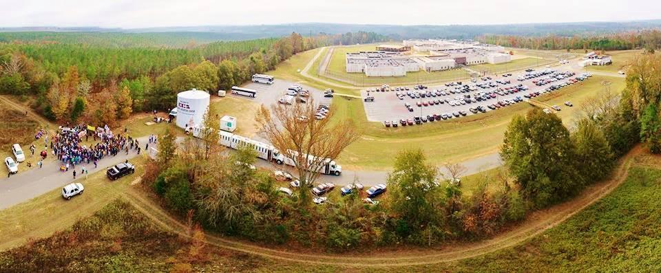 Stewart Detention Center On Lockdown As Detainees Protest Inhumane