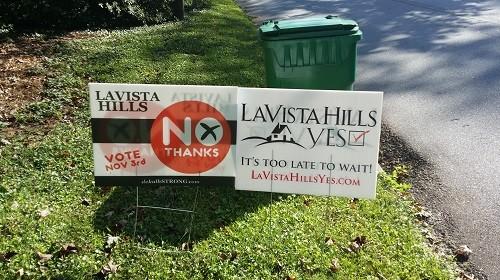 lavista hills no yes