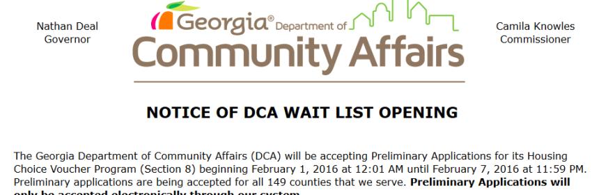 DCA vouchers