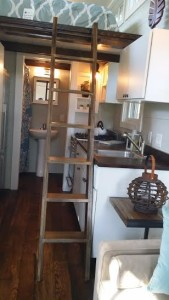 inside tiny house