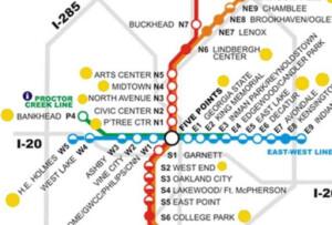 marta map
